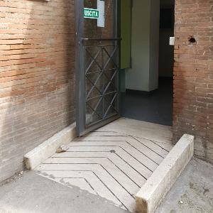 entrance toilet Colosseum