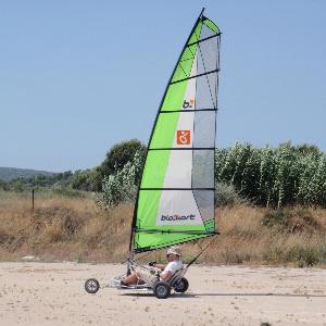 land sailing