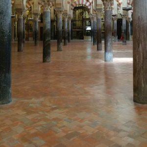 mezquita floor