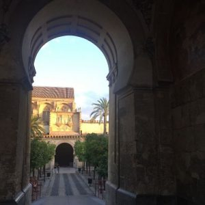 mezquita puerta del perdon