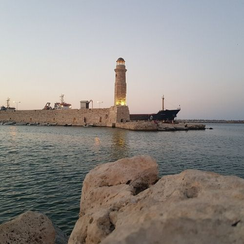 accessible flexible rethymno city tour - lighthouse