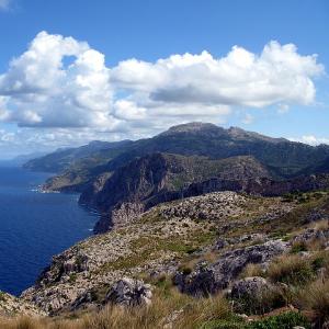 sierra tramuntana mountain mallorca