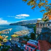 Tour to Amalfi coast Sorrento Italy
